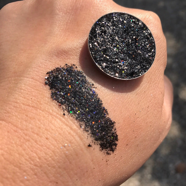 Syrus | Black Pressed Glitter Eyeshadow