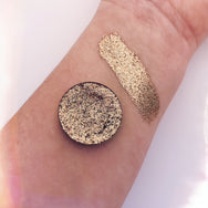 Temple | Gold Pressed Glitter Eyeshadow