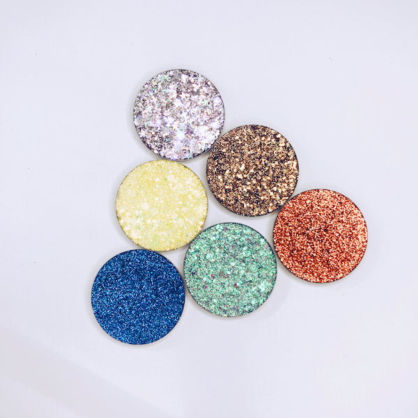 Texas Made | Pressed Glitter Eyeshadow Collection