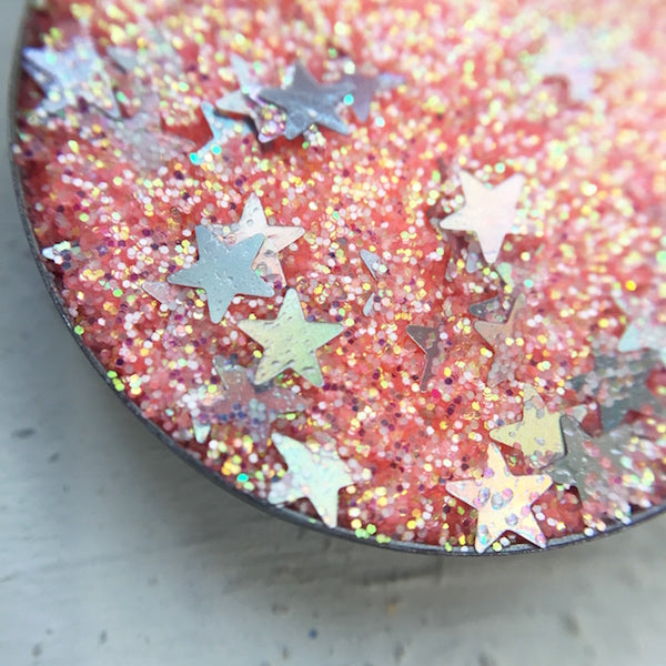Wild Love | Orange Pressed Glitter