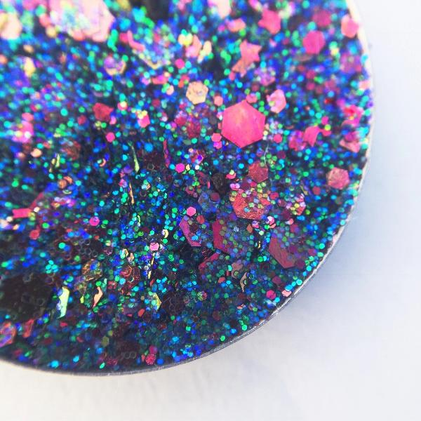 blue purple chunky rainbow pressed glitter dearkatiebrown.com