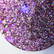 More Than Anything pressed glitter