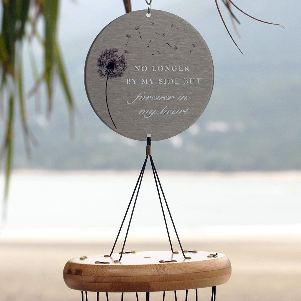 dog memorial wind chime