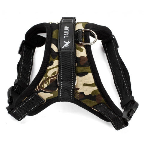 Army Harness Vest Collar