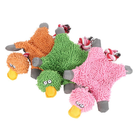 Papa Duck Plush Rope Toy