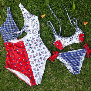 Red Ranger Two Piece Swimsuit for Kids