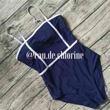 Laurel Blue One Piece Swimsuit