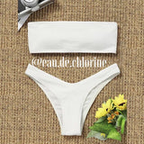 Adaline Bandeau Two Piece Swimsuit