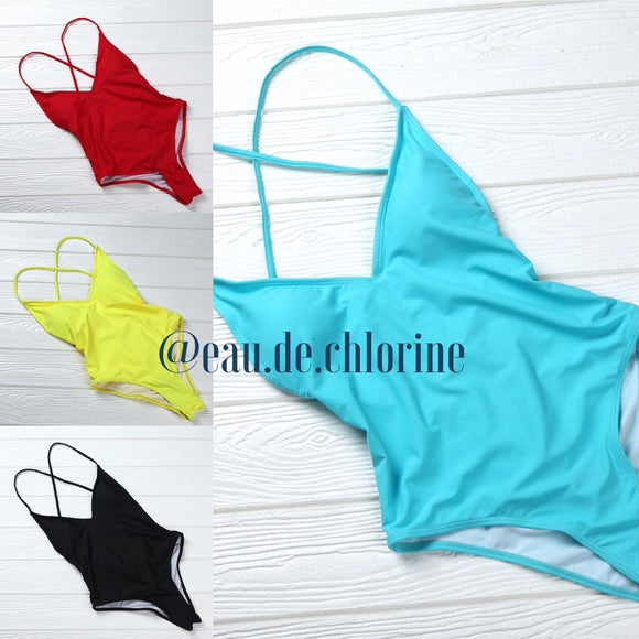 Chelsea Plain One Piece Swimsuit