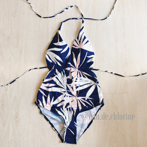 Clara Tropical Blue Monokini