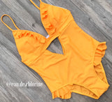 Siobhan Yellow Swimsuit