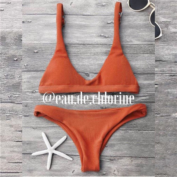 Ellis Orange Bikini