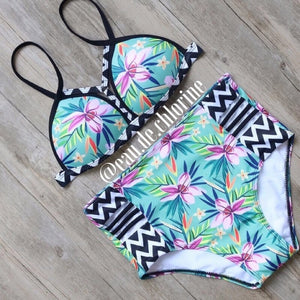 Tribal Highwaist Bikini