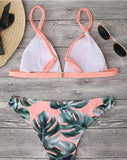 Cairo Pink Two Piece Swimsuit