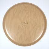 Round Wooden Tray bottom view