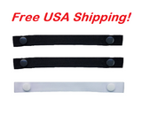 "The Most Comfortable ""Bra Strap Holder"" You'll Ever Have. (3-Pack: 2 Black and 1 White), Free USA shipping"