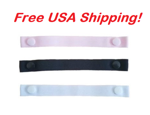 "Copy of The Most Comfortable ""Bra Strap Holder"" You'll Ever Have. (3-Pack: Pink, Black, White), Free USA shipping"