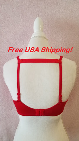 The Most Comfortable Bra Strap Holder (Red)