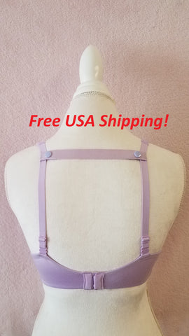 The Most Comfortable Bra Strap Holder (Purple)