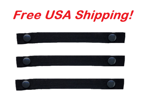 "The Most Comfortable ""Bra Strap Holder"" You'll Ever Have. (Black, You Get 3-Pack), Free USA shipping"