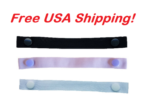 "Copy of The Most Comfortable ""Bra Strap Holder"" You'll Ever Have. (3-Pack: Black, White and Purple), Free USA shipping"