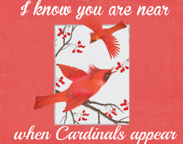 Cardinal sign when you are near cardinals appear