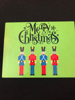 Nutcracker sign, Merry Christmas Nutcracker sign