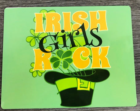 Irish Girls Rock Sign