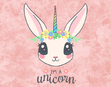 I am a unicorn sign