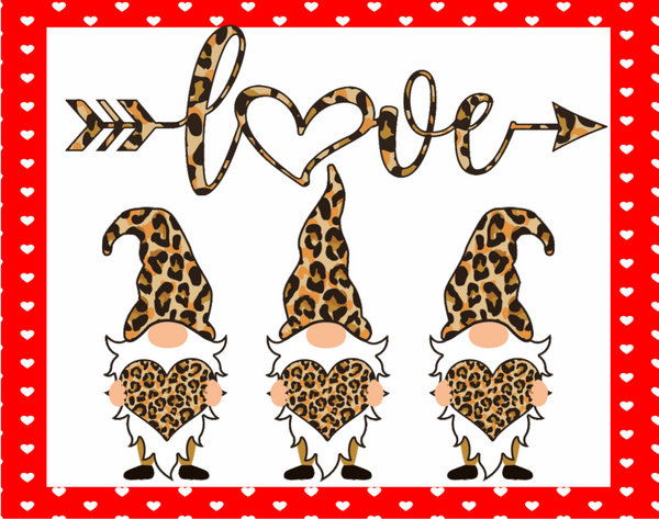 Love elf leopard print