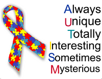 Autism Awareness sign