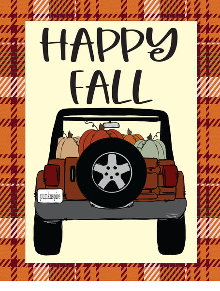Happy Fall Jeep
