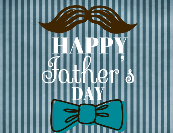 Fathers Days sign- Striped