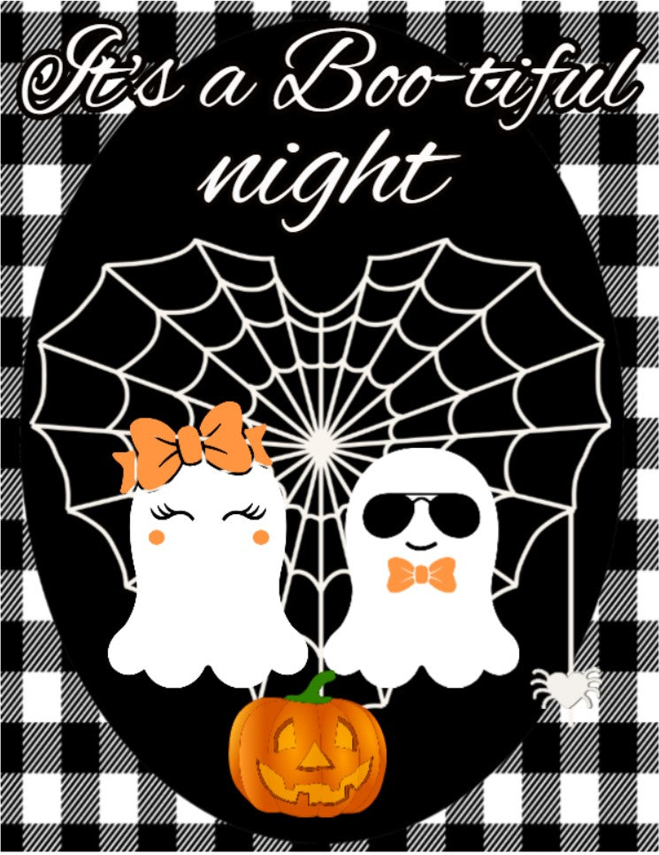 Its a boo-tiful night sign