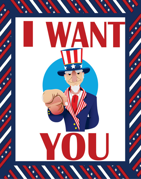 I Want You Patriotic
