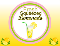 Fresh Squeezed Lemonade sign