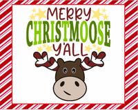 Merry Christmoose Y'all