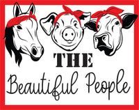 The Beautiful People Farm Animals
