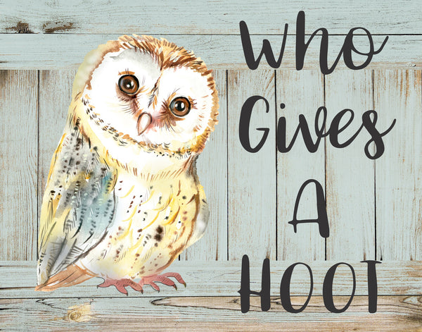 Who Gives a Hoot