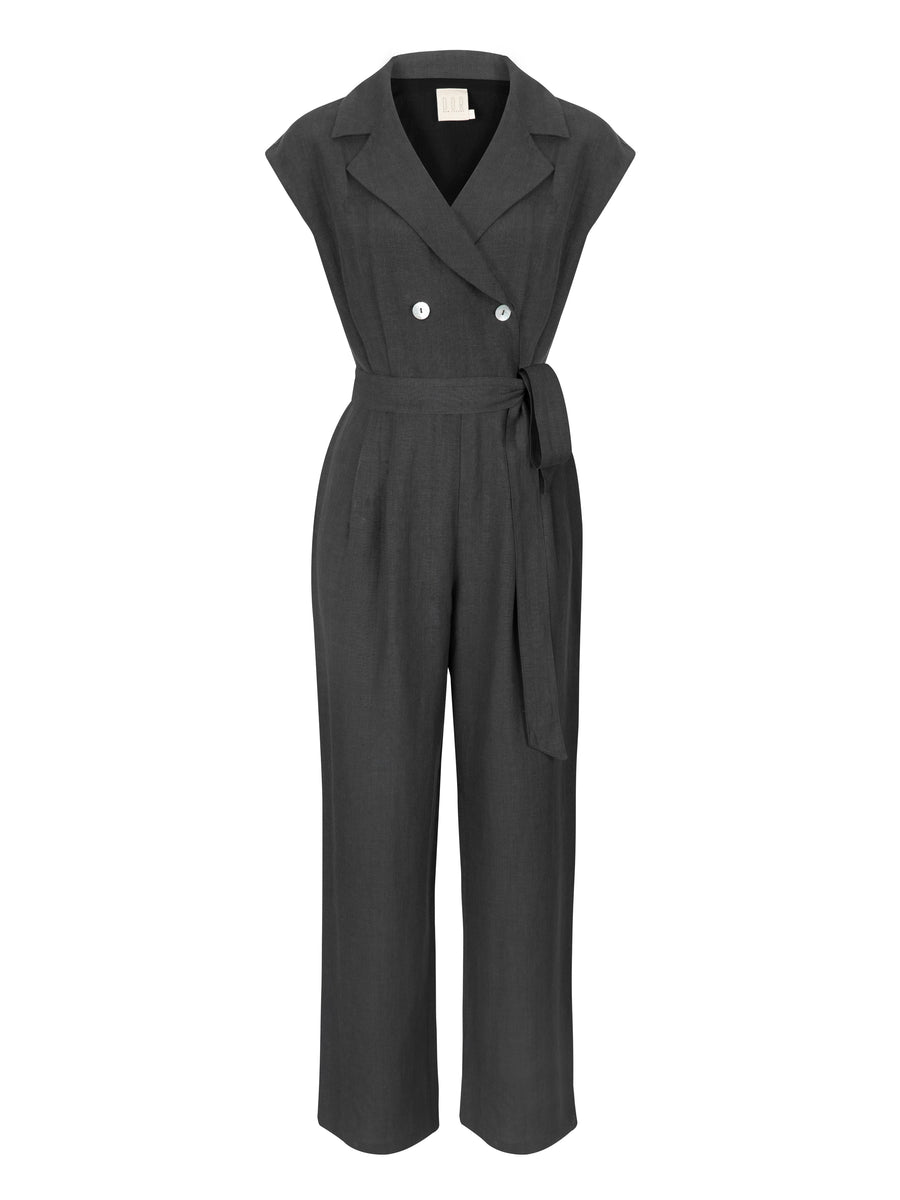 This Must Be The Place Linen Jumpsuit