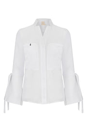 At the Ritz Linen Shirt