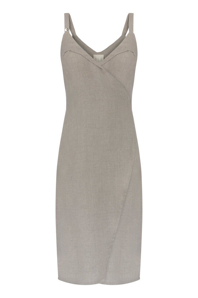 The French Balcony Rituals Linen Dress