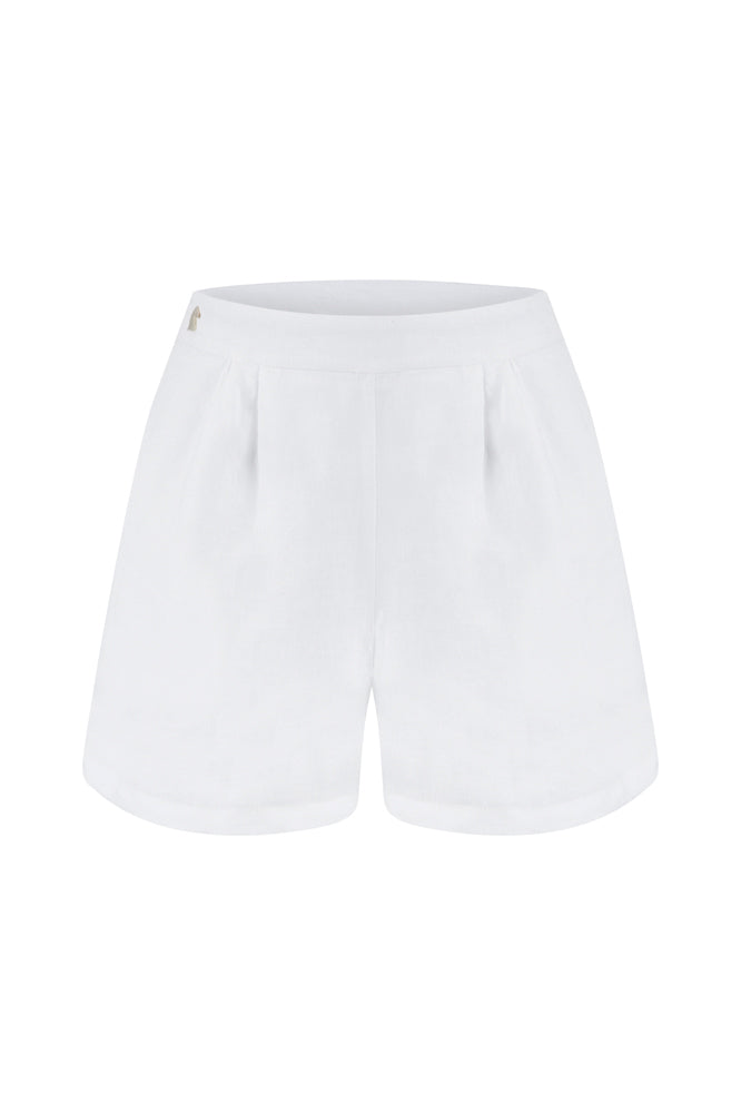 A Walk in Sintra Linen Shorts