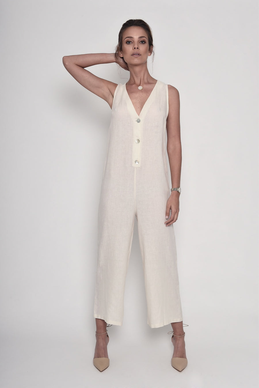 By the Lake Maggiore Jumpsuit