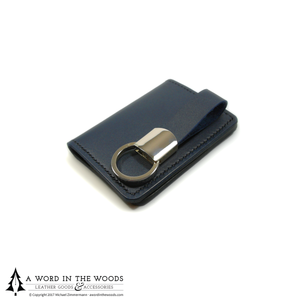 Executive Leather Key Fob