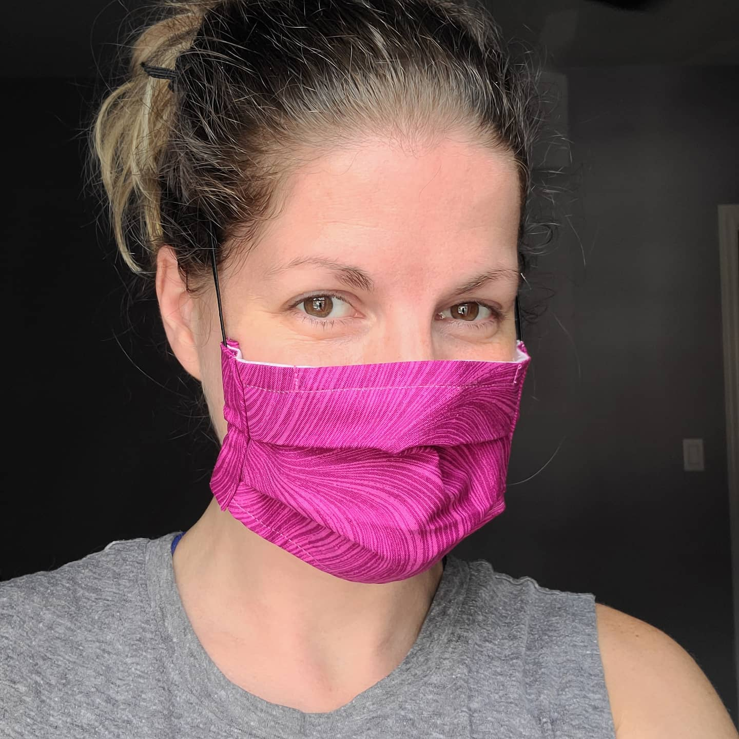 2-Layer Pleated Face Mask