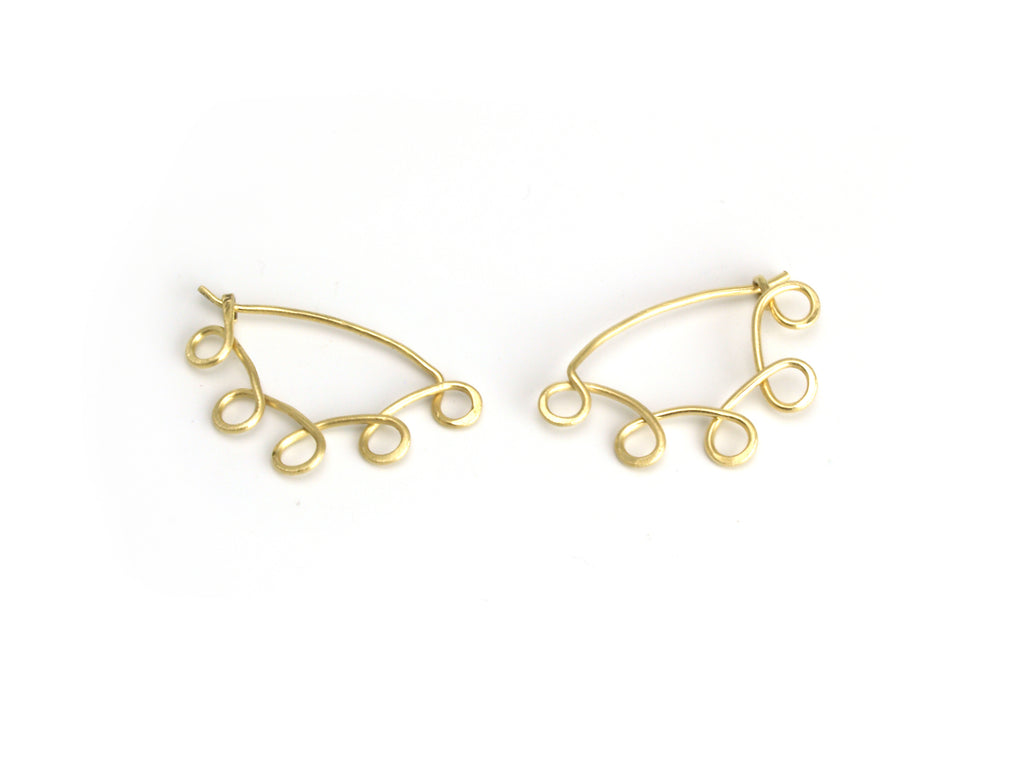 Little Loopy Gold Hoop