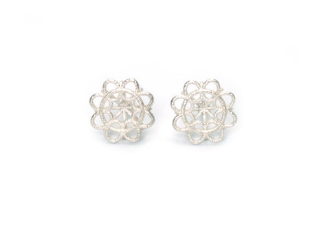 Small Doily Studs