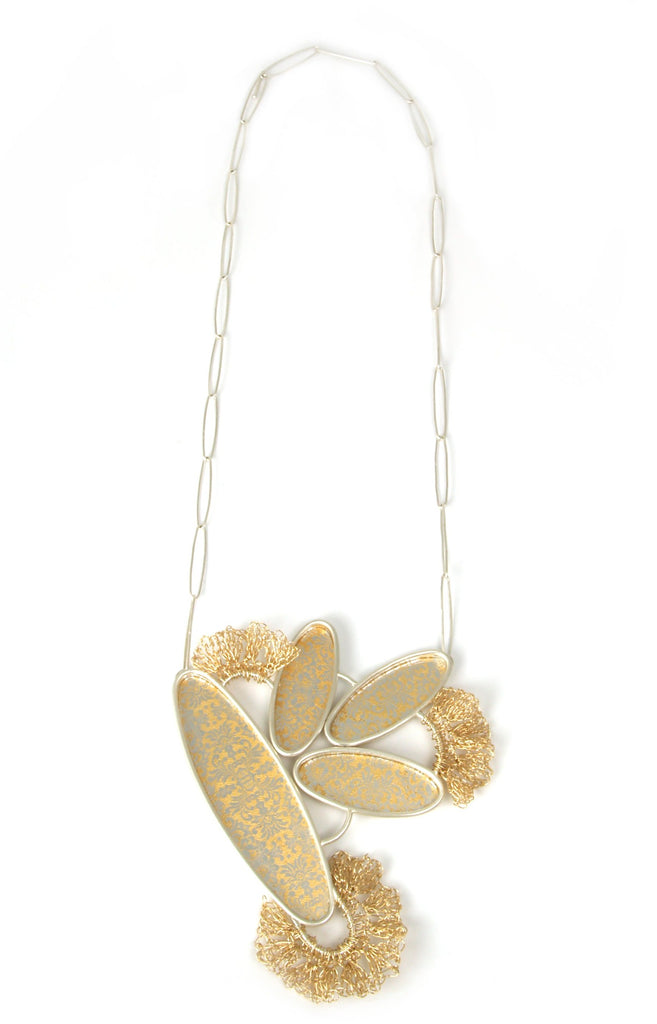 Golden Reflection Necklace #2