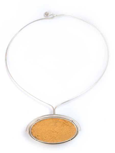 Golden Reflection Necklace #1